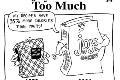 """The Joy of Cooking Too Much"""