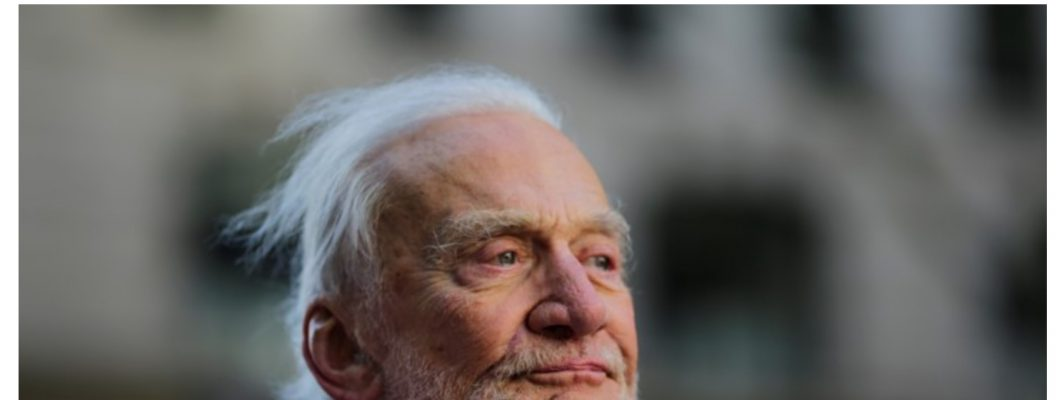 Does The Atlantic think Buzz Aldrin is crazy?